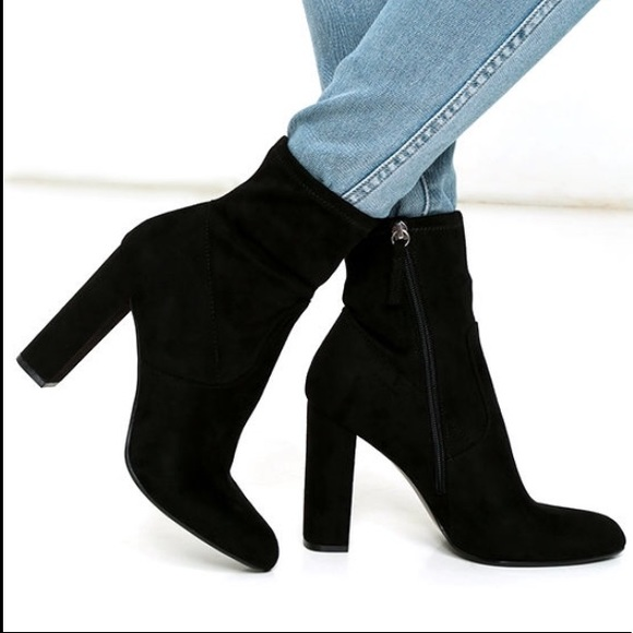 Target Shoes - Black booties